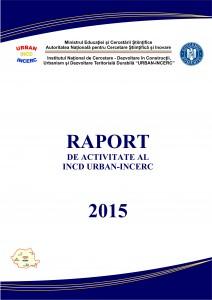 coperta_INCD RAPORT_2015