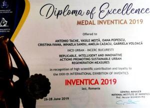 Medalie INVENTICA 2019
